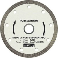 Disco diamantado 7 polegadas