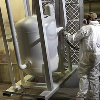 Revestimento anticorrosivo de equipamento industrial